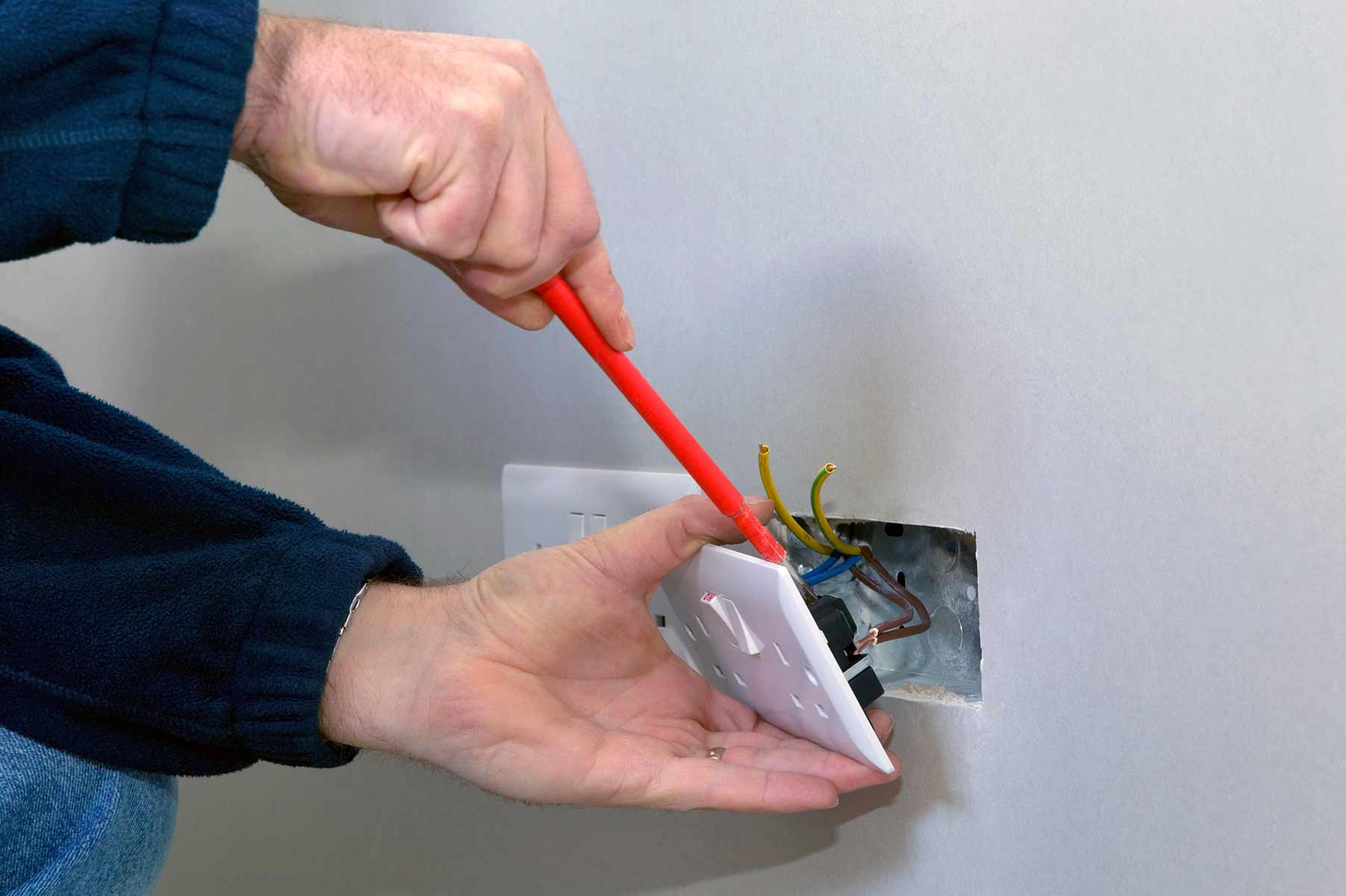 Our electricians can install plug sockets for domestic and commercial proeprties in Holloway and the local area.